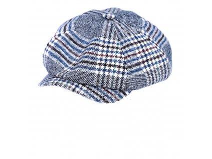 Zimní kostkovaná vlněná bekovka - Carlsbad Hat Co.