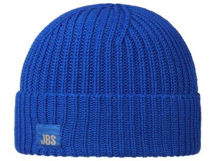 Modrá vlněná čepice Stetson - vlna merino  -  8599344