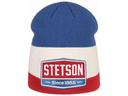 Pletená zimní čepice Stetson - Beanie Gasoline  - 8699102