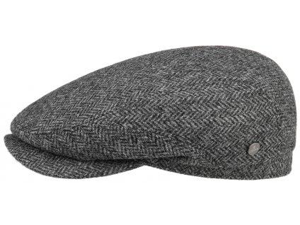 Pánská vlněná šedá zimní bekovka Lierys - Driver Cap  - 6380504 - bestseller