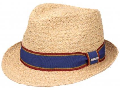 Slaměný klobouk Stetson Trilby Raffia - 1238513 STETSON