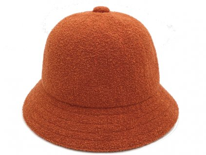 oranžový bucket hat