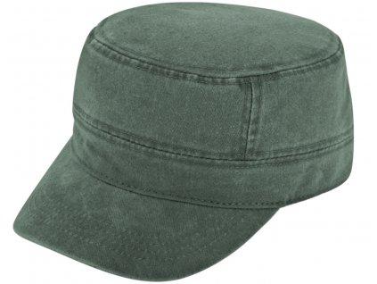 Vojenská kšiltovka khaki - Army Cap - sepraná bavlna