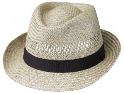 Slaměný unisex Trilby klobouk - Carlsbad Hat Co. -