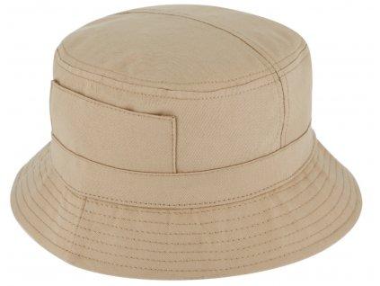 Béžový bucket hat - Carlsbad Hat Co. - rybářský klopený klobouk
