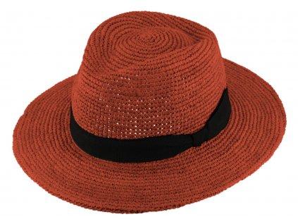 letni fedora klobouk