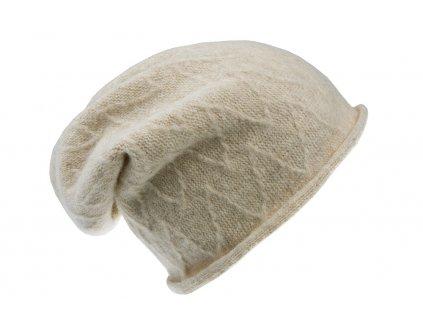 Vlněná pletená čepice Ofestina  - Tonak - výprodej