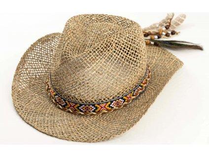 Slaměný klobouk Carlsbad Hat Co. - Western Raffia