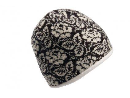 Vlněná hnědá čepice Orozi Tonak - výprodej