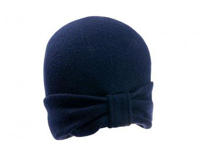 Kašmírová Čepice Otigano Tonak - modrá barva