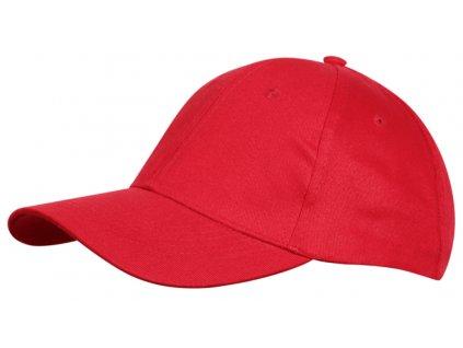 červená letní kšiltovka 1