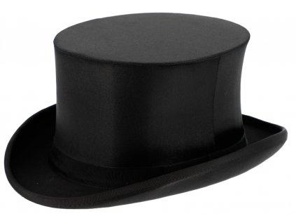 Skládací černý cylindr s výškou 13 cm Opera Hat, Gibbus