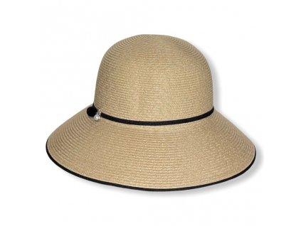 28875 3 damsky letni klobouk s perlou