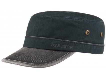 Military čepice od firmy STETSON - Army Cap  7491101 - modrá