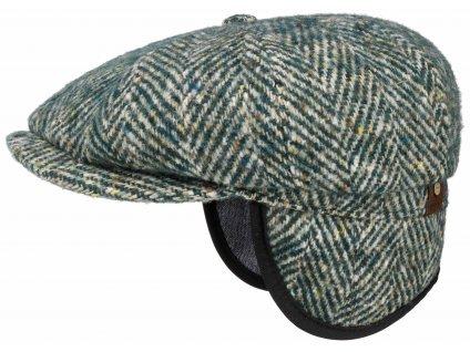 Bekovka Hatteras od Stetson 6840518 (S UŠNÍ KLAPKAMI)  Vlna - zelená