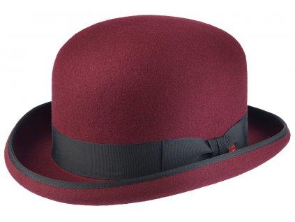 Bordó pánská buřinka - klobouk buřinka Mayser Connor - limitovaná kolekce