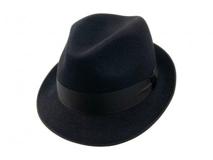 Plstěný Trilby klobouk Tonak 11376/12 - černý