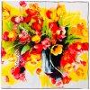 30729 hedvabny satek tulipany