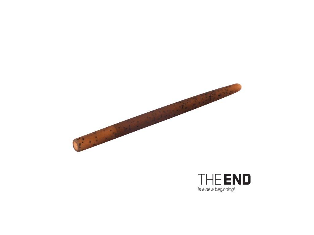 Dlouhá tvrdá gumička proti zamotání THE END / 10ks