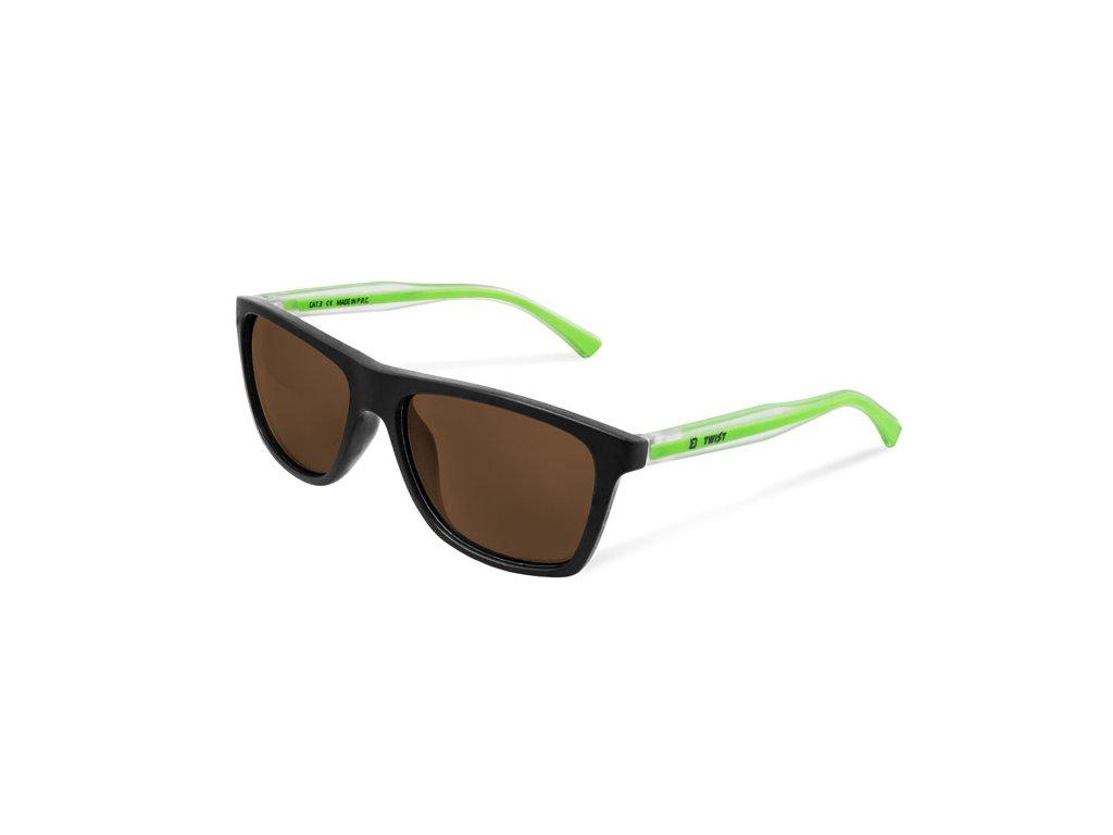 Polarizační brýle Delphin SG TWIST hnědá skla
