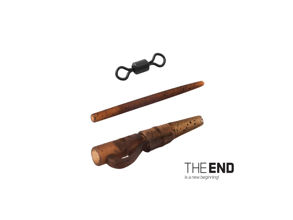 Montáž na olovo PIN SWIVEL THE END / 6ks
