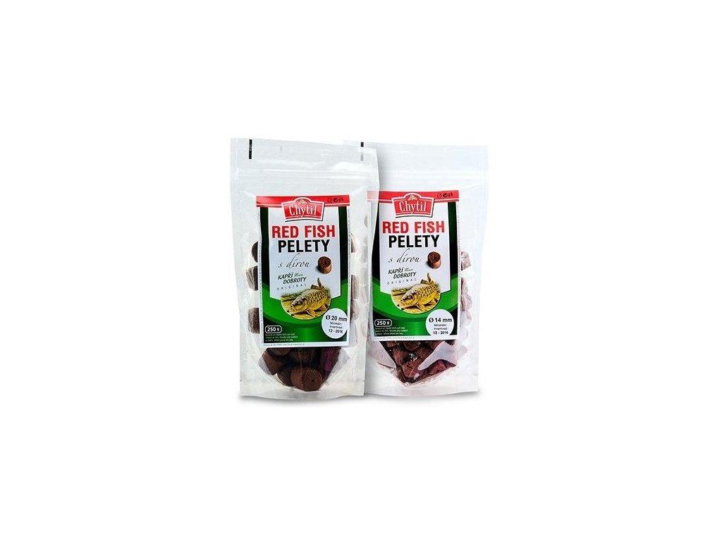 chytil pelety red fish s dirou 250 g