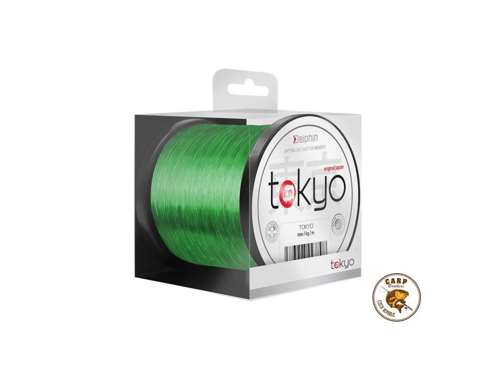 Monofil Delphin TOKYO / fluo zelený (Varianta 0,369mm 22lbs 3700m)