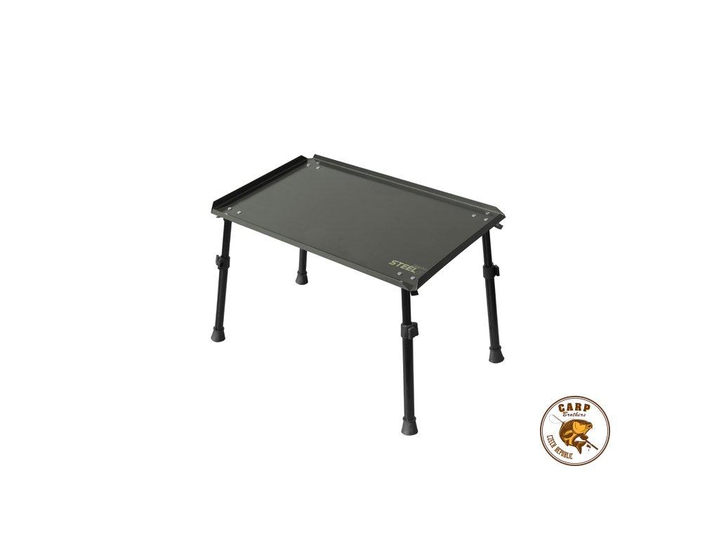 Kaprařský stolík Delphin STEELS (Varianta XL 55x35cm)