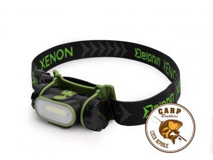 1049 celova lampa delphin xenon