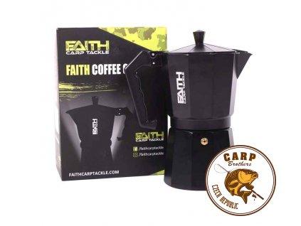 Kávovar a hrnek FAITH