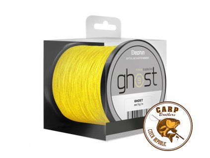 Delphin GHOST 8+1 / žlutá (Varianta 0,33mm 40lbs 600m)