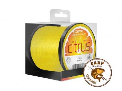 Delphin CITRUS / žlutý (Varianta 0,35mm 19lbs 17800m)