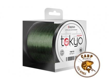 Monofil Delphin TOKYO zelený (Varianta 0,369mm 22lbs 3700m)