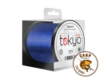 Monofil Delphin TOKYO modrý (Varianta 0,369mm 22lbs 3700m)