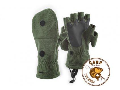 Flísový rukavice Delphin CAMP (Varianta XL)