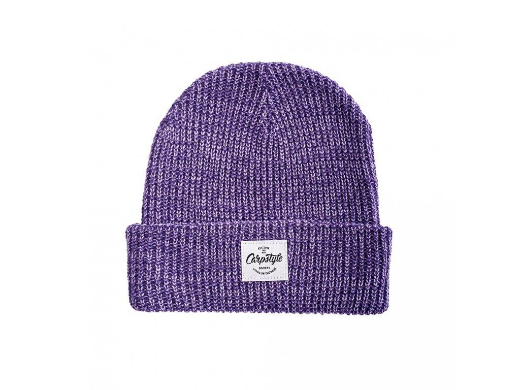 Zimní Čepice Carpstyle Purple Beanie