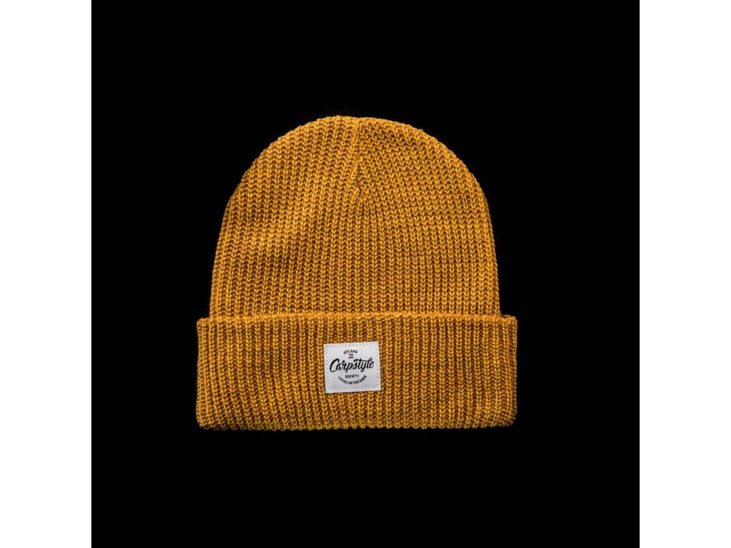 Zimní Čepice Carpstyle YellowBeanie