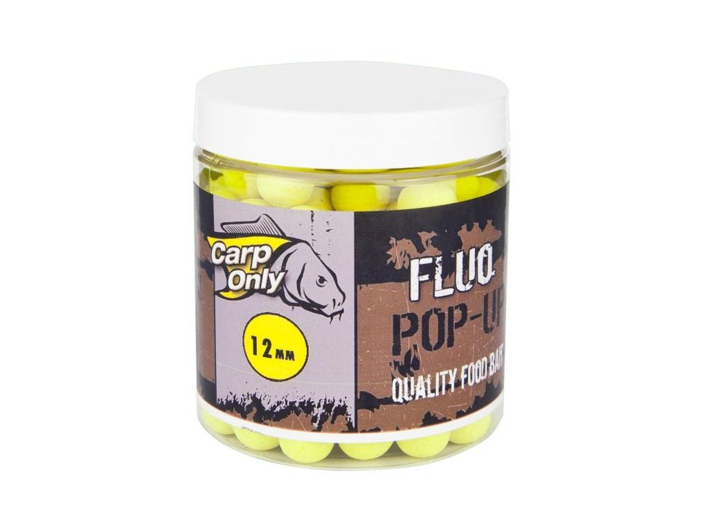 FLUO POP UP BOILIE YELLOW 12MM 80G