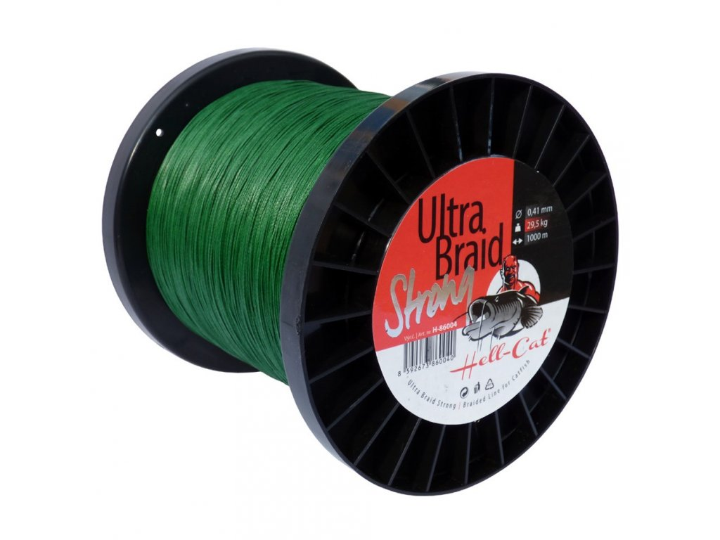 Hell-Cat Ultra Braid Strong 0,33mm, 18,2kg, 1000m