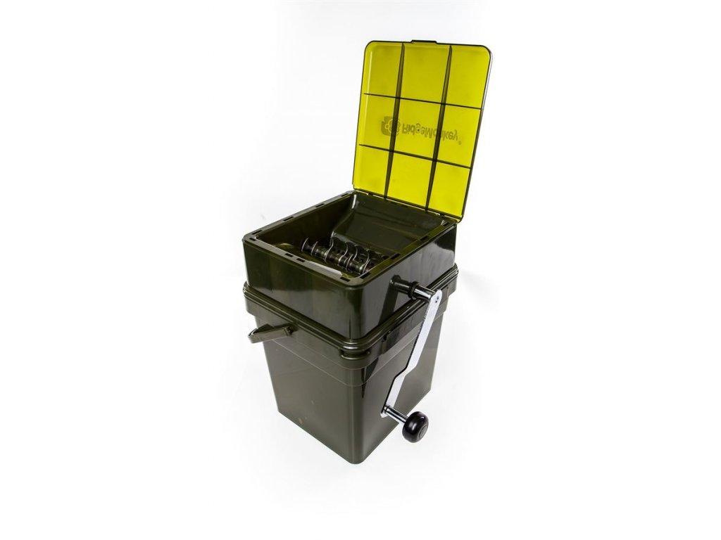 RidgeMonkey: Drtička Advanced Boilie Crusher + 17 l Modular Bucket