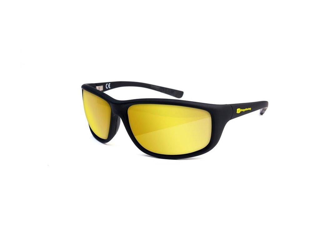 RidgeMonkey: Brýle Pola-Flex Sunglasses Vibrant Amber