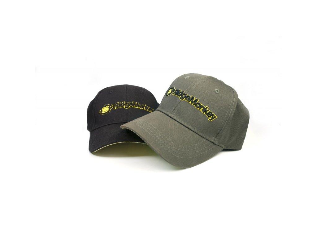 RidgeMonkey kšiltovka THe General Baseball Cap (Varianta zelená)