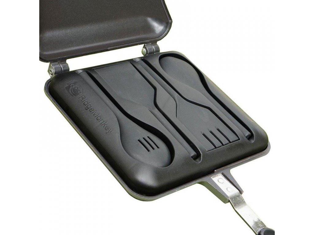 23166 ridgemonkey kulinarska sada nadobi utensil set xl