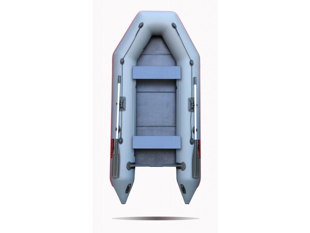 Nafukovací čluny Elling - Forsag 310 s pevnou skládací podlahou, šedý