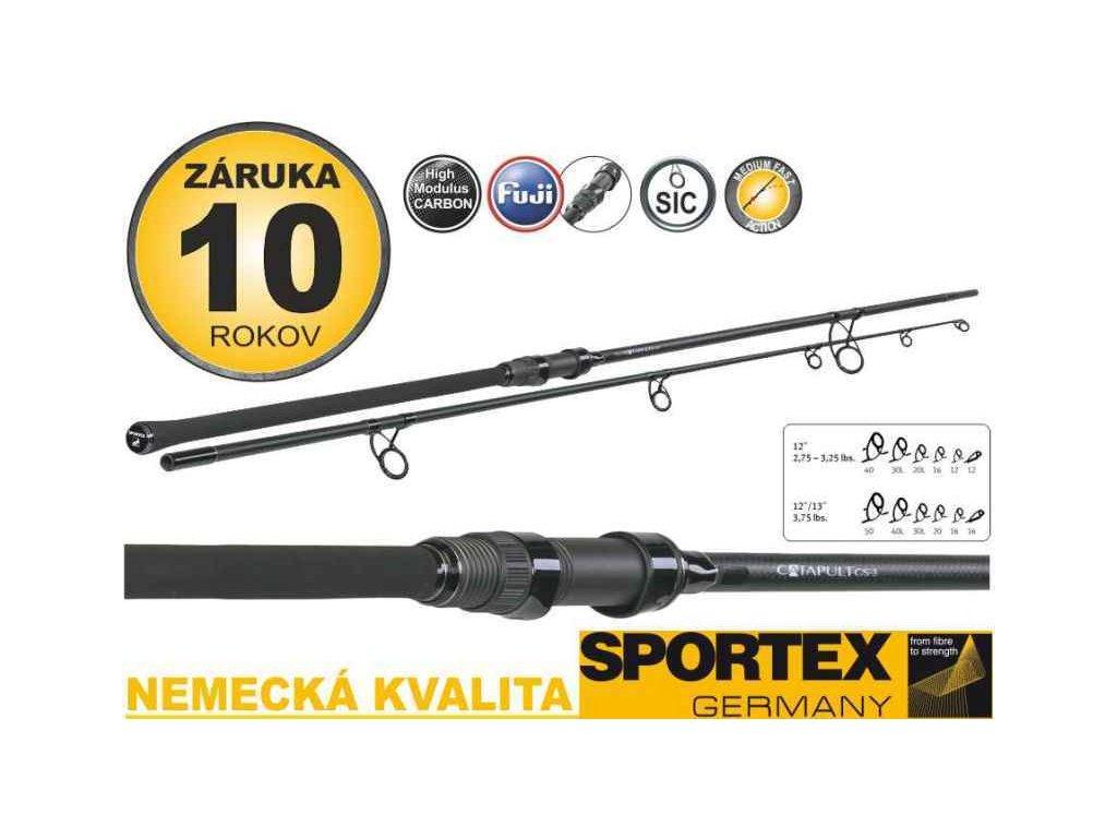 Kaprové pruty Sportex Catapult CS-3 Carp 2-díl 366cm / 3,00lbs