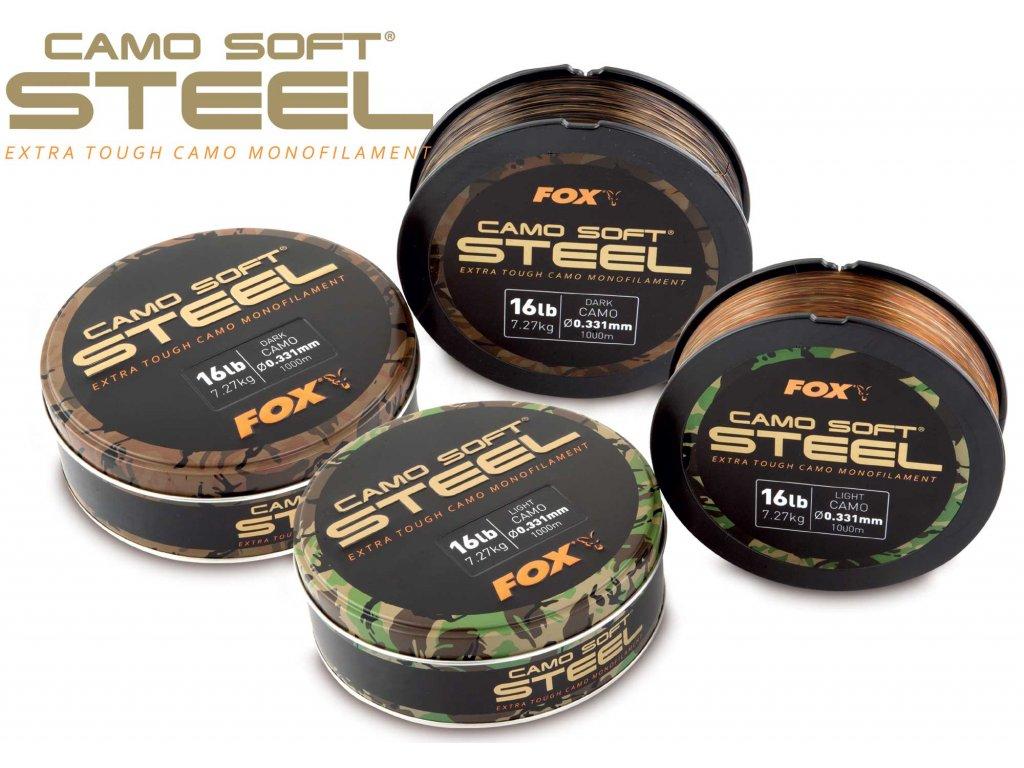 Vlasec FOX Camo Soft Steel - POSLEDNÍ KUS !!!