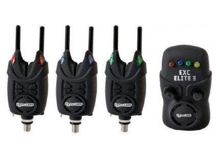 Extra Carp Bite Alarm Set EXC Elite 3+1