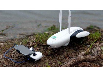 Rybářský plovoucí dron PowerDolphin se sonarem a kamerou