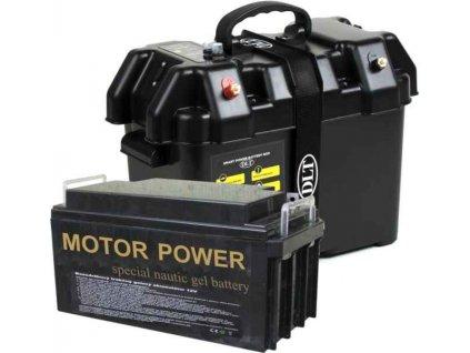 Power Box Maxi 6500 s akumulátorem 12V / 65A