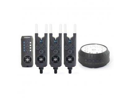 Sonik: Sada hlásičů Gizmo 3+1 Alarm (All Blue) + Bivvy Lamp